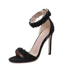 Women's Sexy High Heel Sandals ❤ liked on Polyvore featuring shoes, sandals, sexy high heel sandals, sexy high heel shoes, high heel shoes, high heels sandals and high heeled footwear