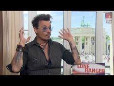 Johnny Depp Interview Lone Ranger (2013) - YouTube