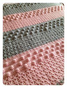 Ravelry: AnnabelsArmoire's Bobble Baby Blanket
