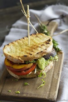 Top 10 Fresh Vegetarian Sandwiches  I love sandwiches, so if I go vegetarian I'll need to find lots of options.