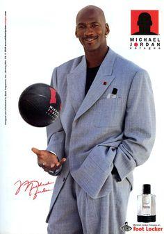 MJ Foot Locker Ad
