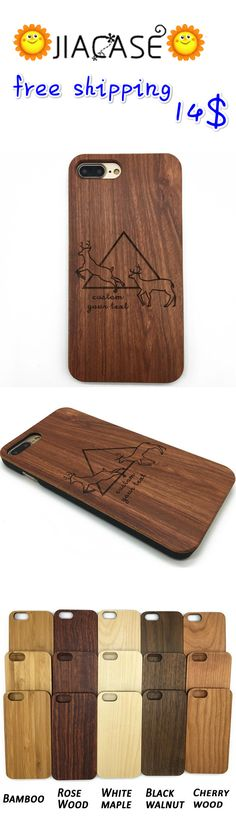 #Wooden #Deer Head Hipster #Geometric #Triangle #iPhone #Case&Samsung Galaxy