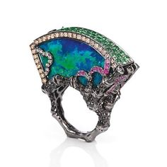 Wendy Yue Opal ring