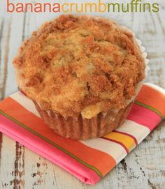 Easy Banana Crumb Muffin Recipe