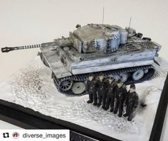 #Repost @diverse_images with @repostapp  Our new 1/48 scale Tiger I is now in production. For more informarion visit www.pewtertanks.com #panzer #tigertank #tank