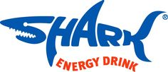 Shark Energy Drink logo - Clever use of letters