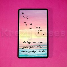 Kindle+Fire+Case+Young+Quote+Amazon+Kindle+fire+HD+by+KrezyCase,+$24.99