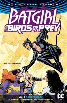 Birds of Prey The Battle Within softcover graphic novel RARE OOP DC
