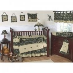 I recently became aware of a popular new theme for baby bedding - Baby Camo!    A friend of mine is pregnant and has chosen a Baby Camo theme for...