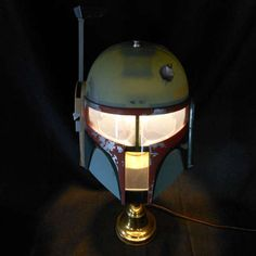 Illuminate Your Room Star Wars Style with This DIY Boba Fett Lamp #starwars trendhunter.com