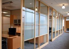 DIRTT Environmental Solutions - Product Applications.  Partition style.