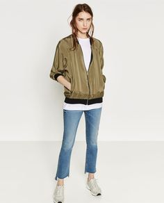 REVERSIBLE BOMBER JACKET-View all-WOMAN-NEW IN | ZARA United Kingdom