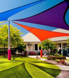 shade canopy for playground Pergola Canopy, Pergola Swing, Canopy Outdoor, Pergola Shade, Diy Pergola, Pergola Kits, Outdoor Decor, Pergola Ideas, Cheap Pergola