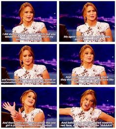 Jennifer Laurence is the best.