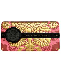 Decadent looking MOR soap packaging design!