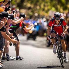 TDU 2016 Richie Porte wins on Willunga Hill @tbsphotography