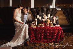 Great Gatsby Wedding Candy Bar 12
