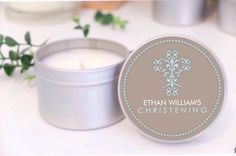 Personalised Baptism / Christening favours / by MahinaCreations