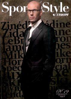 Zinedine Zidane is the winner in Most Stylish Men 2015 - Category Sport