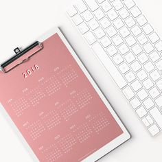 Pink planner set available to download free
