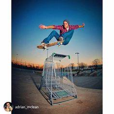 from @adrian_mclean I can't wait for summer sessions.  @dmcphotog . . . #throwback #skateboardingisfun #skateboarding #skateboard #sunset…
