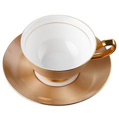 Royal Bone China Coffee Mug Gold Cup and Saucer Ceramic Tea Cup Tray Set Advanced Porcelain Creative  Cup Drinkware For Gift  #Affiliate