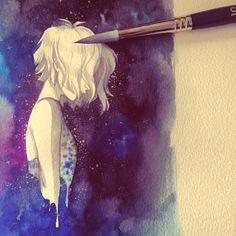Pinup Arena • fryingtoilet:  #art #illustration #cosmic...