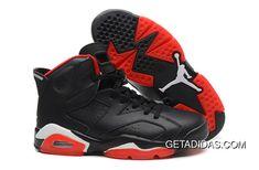 7b7b66f968391b Jordans 6 Vi Fire Red Black White TopDeals