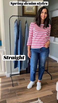 Outfits With Hats, Jean Outfits, Casual Outfits, Denim Outfit For Women, Clothes For Women, Baseball Game Outfits, Baseball Hat, Jean Top, Comfy Casual