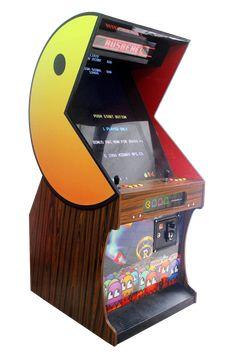 PACMAN DELUXE Retro Pi, Retro Arcade Games, Retro Gamer, Arcade Cabinet Plans, Arcade Console, Arcade Stick, Mini Arcade, Vintage Video Games, Retro Video Games