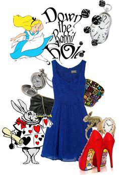 """""""Down the Rabbit Hole"""" by agust20 ❤ liked on Polyvore"""