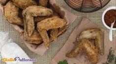 Ali di pollo fritte