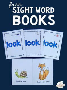 Preschool Sight Words, Teaching Sight Words, Sight Word Practice, Sight Word Activities, Phonics Activities, Word Games, Kindergarten Worksheets, Sight Word Booklets, Sight Word Readers