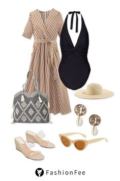 Summery beach outfit for the next holiday!