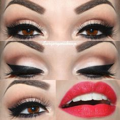 Gorgeous! She has tons of make up how to's!!!