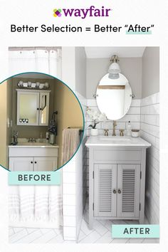 Look at this essential photo and have a look at the here and now help and advice on Condo Bathroom Remodel Upstairs Bathrooms, Downstairs Bathroom, Bathroom Renos, Bathroom Renovations, Home Renovation, Home Remodeling, Bathroom Ideas, Condo Bathroom, Restroom Ideas