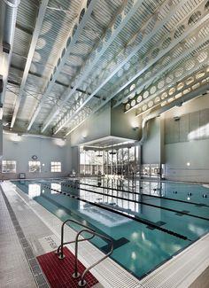 Illinois State University Student Fitness Center pool