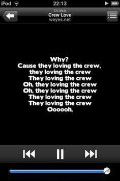 Drake - Crew Love <3