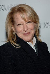 Bette Midler.  I loooove this actress especially in 'Beaches' and 'Stella'.
