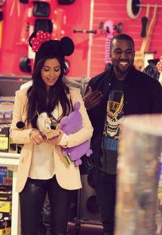 Kim & Kanye.