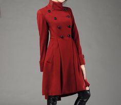 cashmere  coat (082). $159.00, via Etsy.