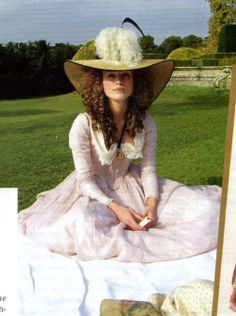 Keira Knightley in The Duchess. Loved the costumes in this film!