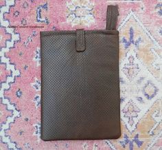 item no202 Hand crafted leather iPad Mini 79'' by ALIFEINCOLOURS, $30.00