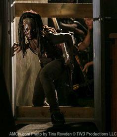 The Walking Dead Season 3 Michonne (Danai Gurira) in Episode 8