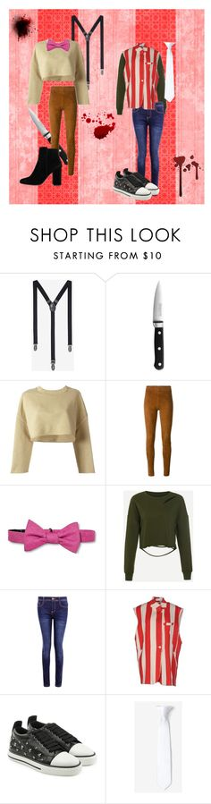 """Wilford Warfstache"" by shroomyshroom99 ❤ liked on Polyvore featuring Express, KitchenAid, adidas Originals, STOULS, City of London, Boohoo, Weili Zheng, RED Valentino, MANGO and markiplier"