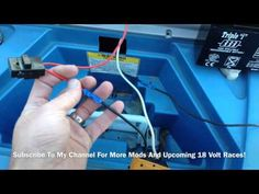 ▶ EASY - How To Modify 12 Volt Power Wheels To 18 Volts. Jeep Hurricane 18 Volt Upgrade - YouTube