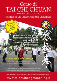 Poster for Cheng Man Ching Tai chi Chuan School in Italy