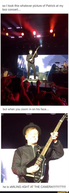 So this is from my tumblr and it somehow got on pinterest... Like I actually took this photo of Patrick