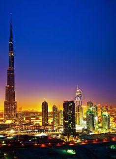 Burj Khalifa Tower, Dubai watched it being built