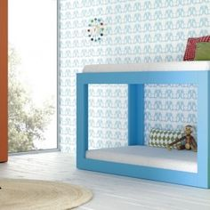 Cama litera - Muebles infantiles Castle Kid Beds, Bunk Beds, Kids And Parenting, Baby Room, Toddler Bed, Shelves, Contemporary, Bedroom, Storage
